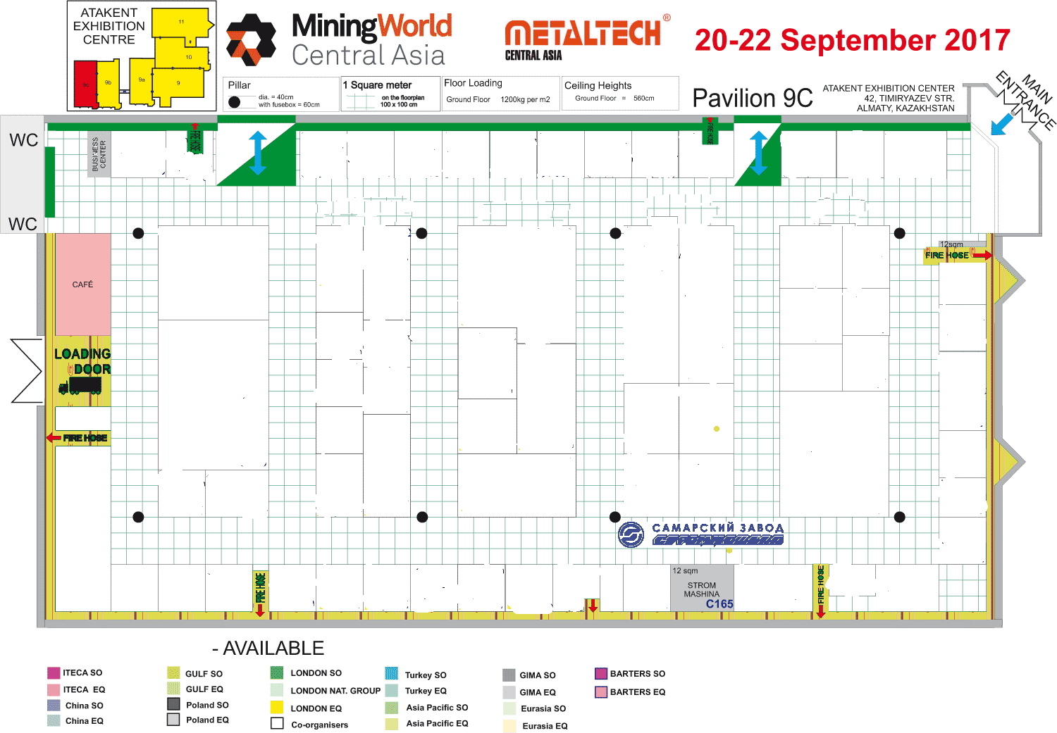 23rd Central Asian International Mining Exploration & Mining Equipment Exhibition and Forum